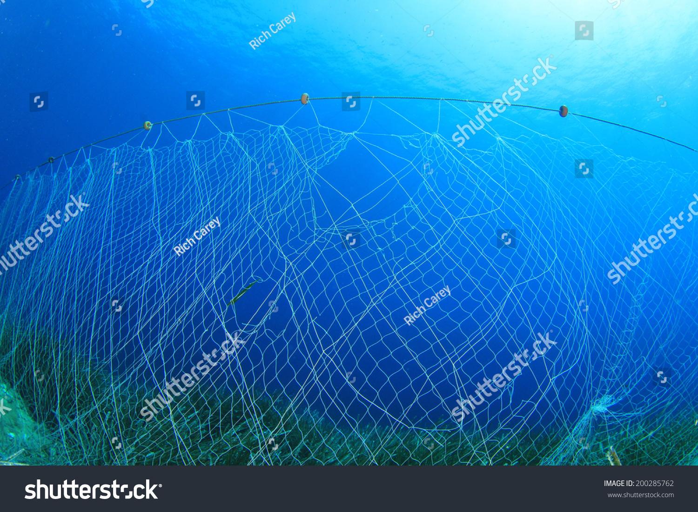 underwater fishing net stock photo 200285762 : shutterstock, Reel Combo