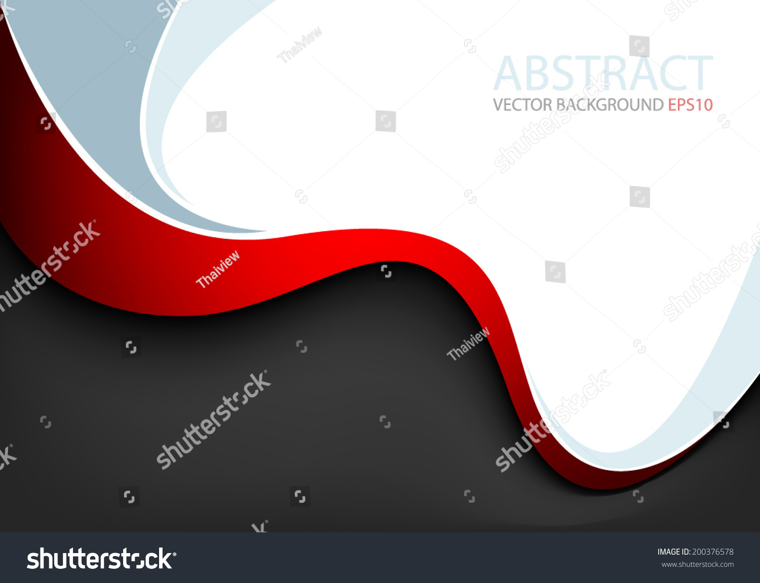 Color Abstract Vector Background Text Frame Stock Vector: Red Line Background On Black And White Color With Blue