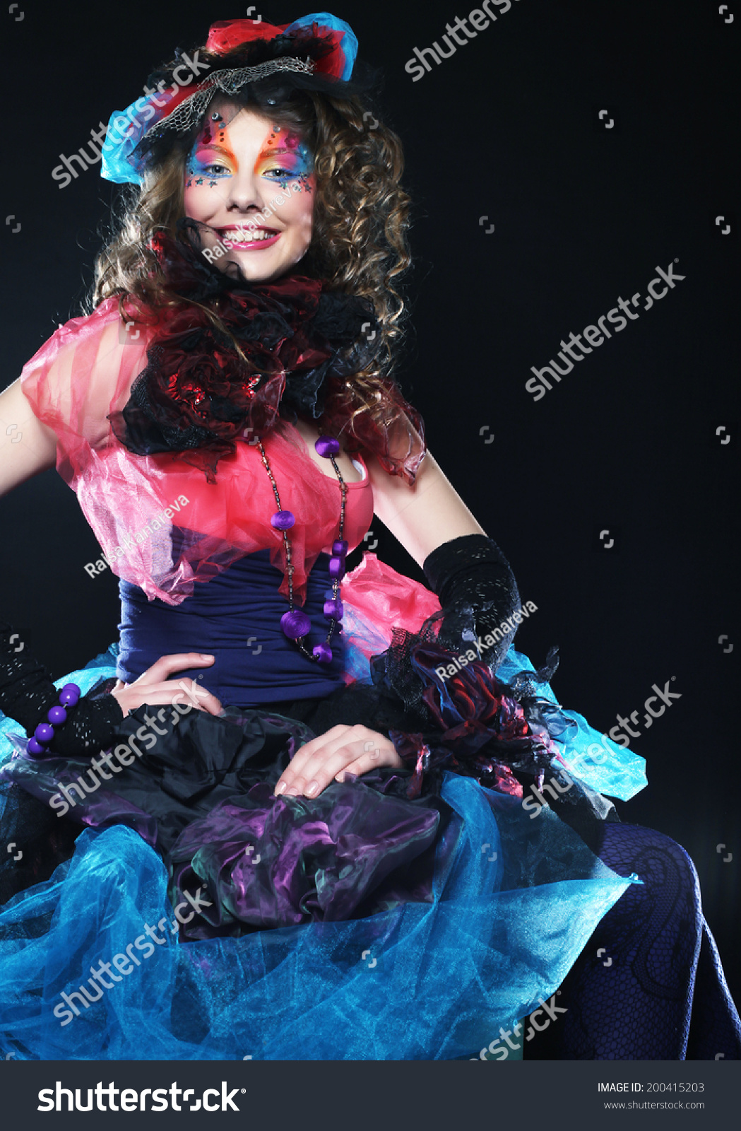 Fashion Shot Woman Doll Style Creative Stock Photo 200415203 Shutterstock