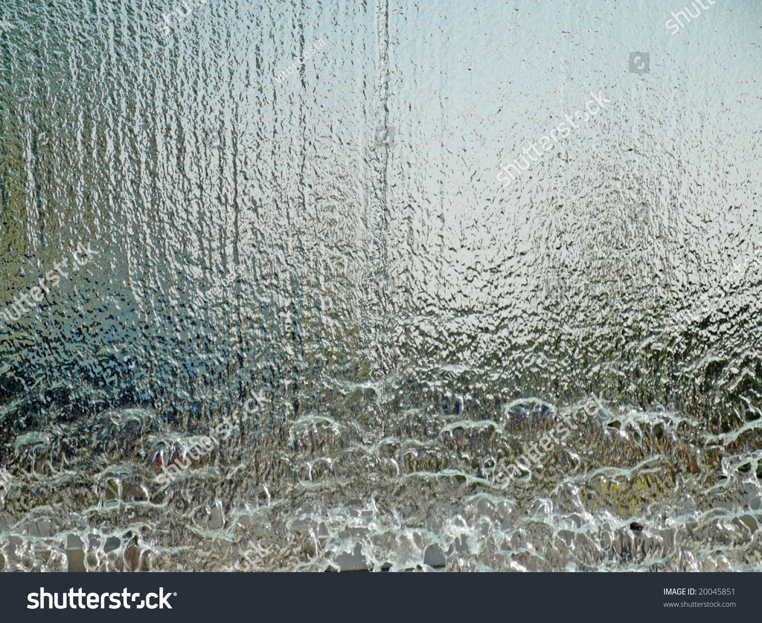 Water Wall Translucent Stock Photo 20045851 Shutterstock