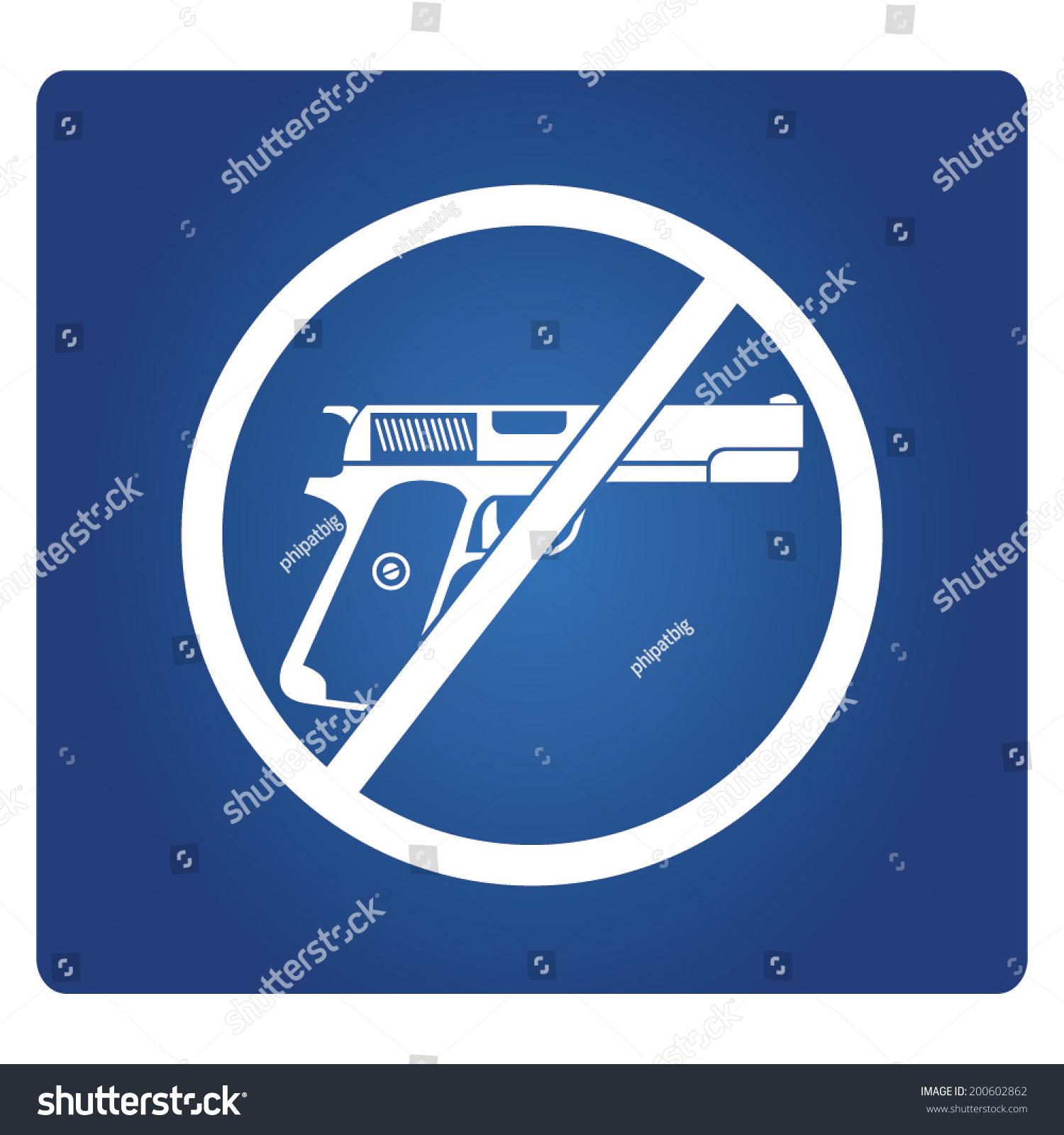 No gun symbol gun prohibit stock vector 200602862 shutterstock no gun symbol gun prohibit biocorpaavc