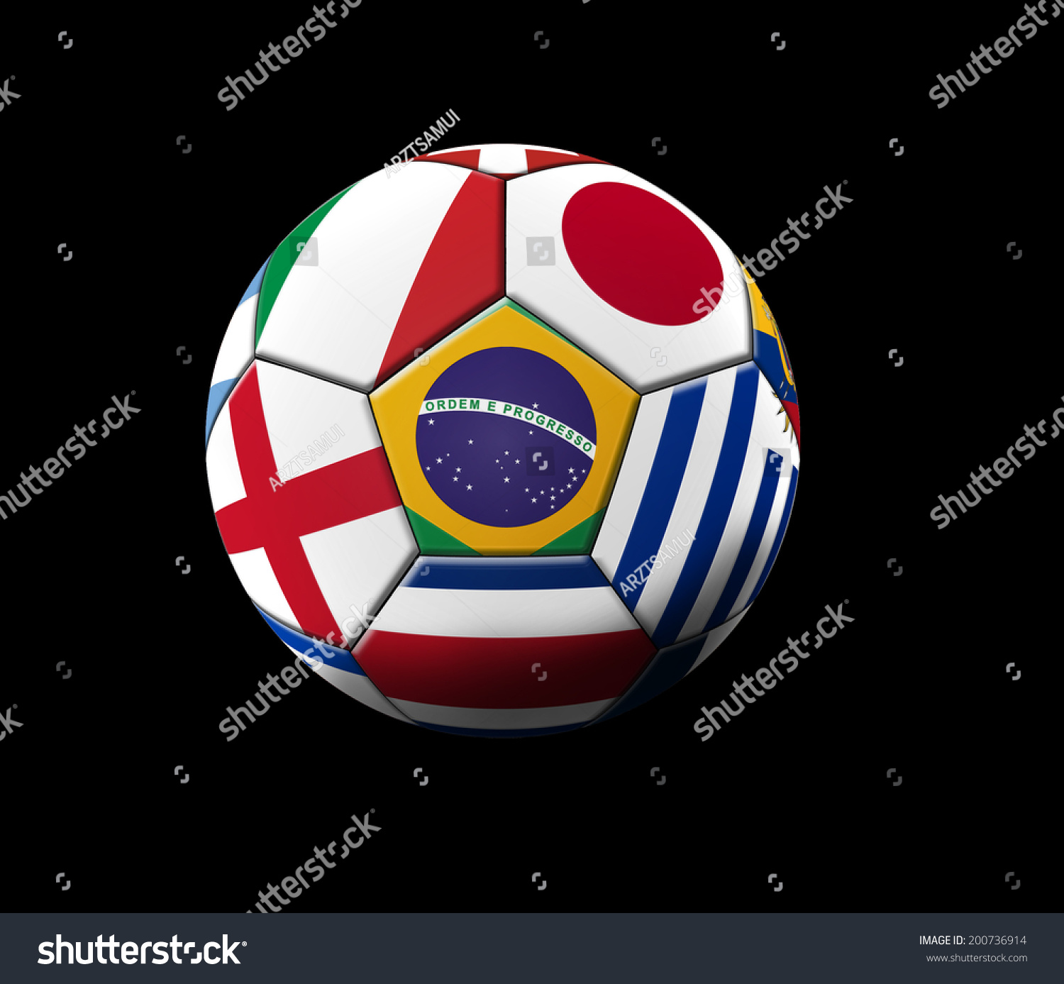 soccer artwork championship brazil stock illustration 200736914