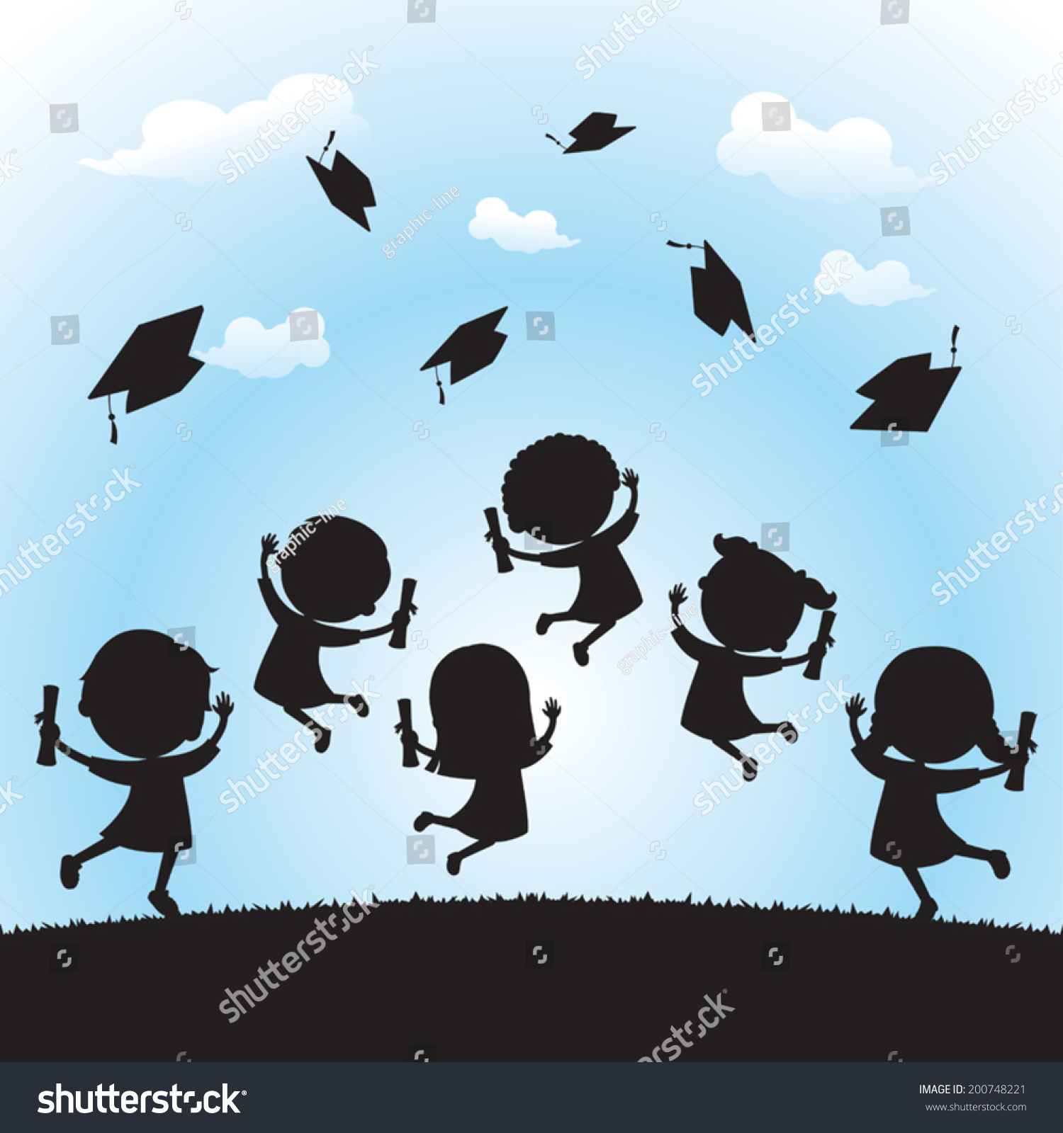 jumping graduate silhouette wwwpixsharkcom images