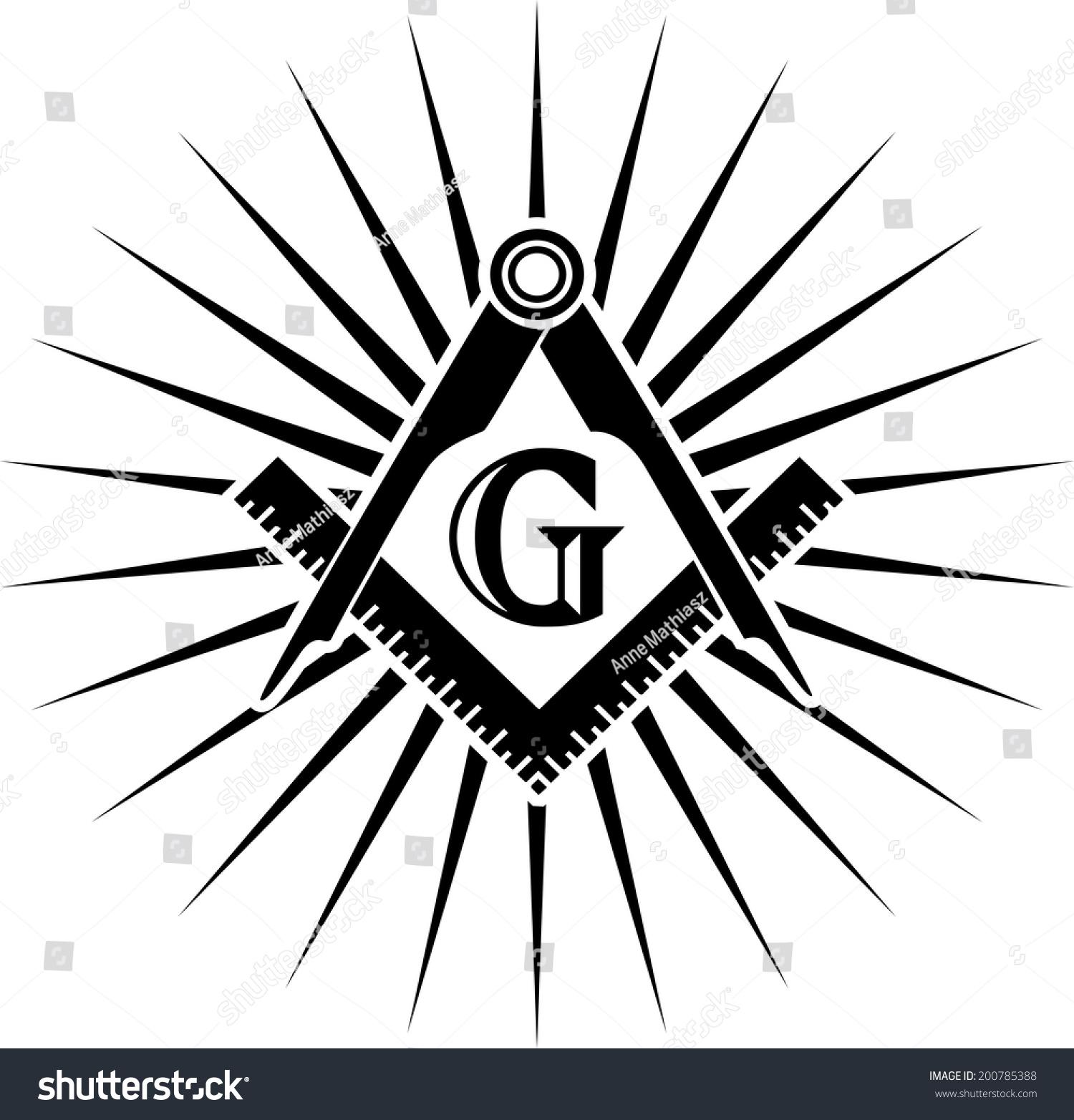 Freemasonry Square Compasses G Great Architect ...