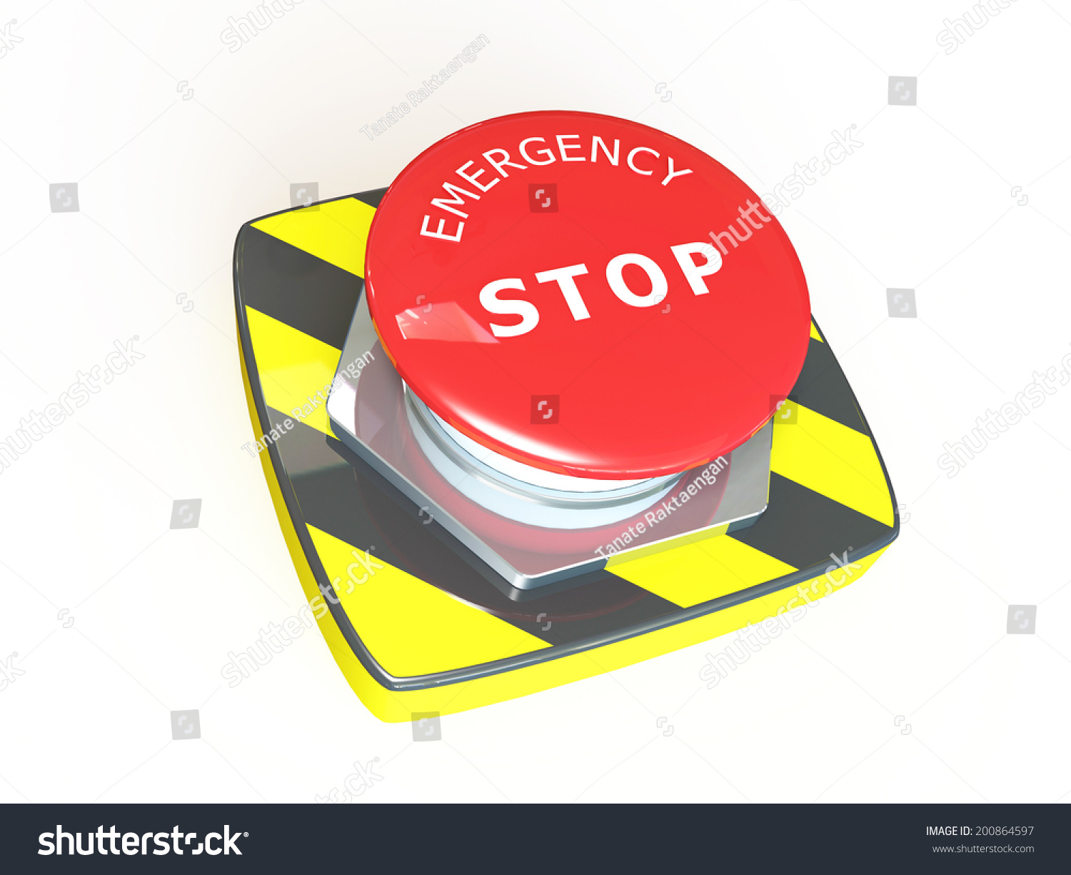 Emergency stop icon clipart emergency off - Emergency Stop
