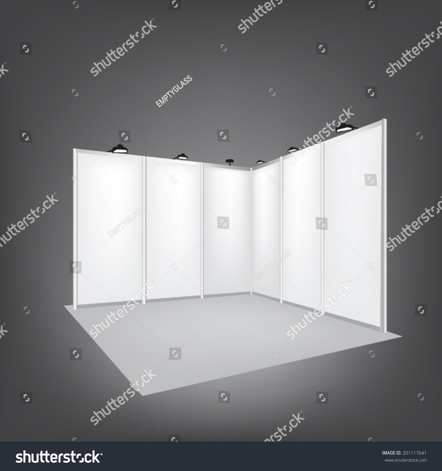 Simple Exhibition Stand Vector : Vector blank trade exhibition stand shutterstock
