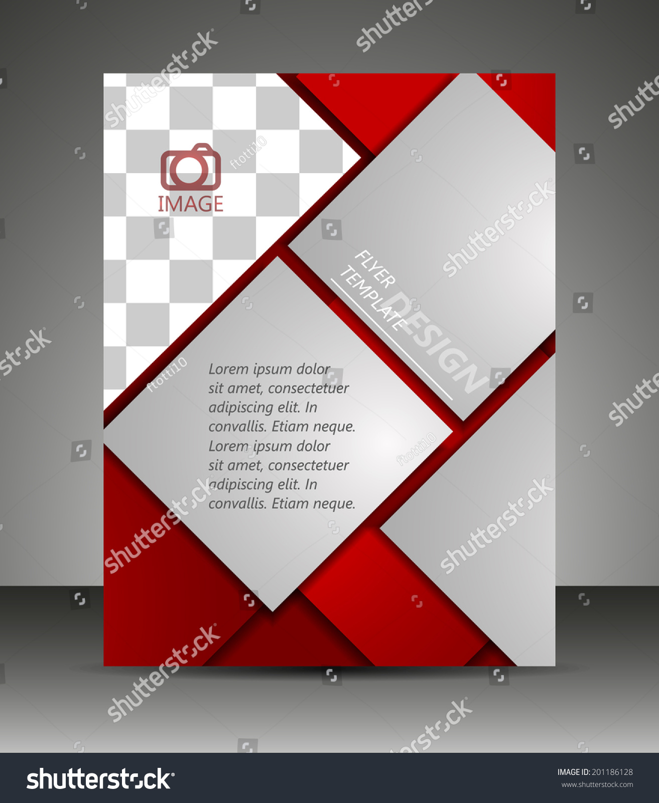 Professional Business Flyer Template Corporate Bannerdesign Stock ...