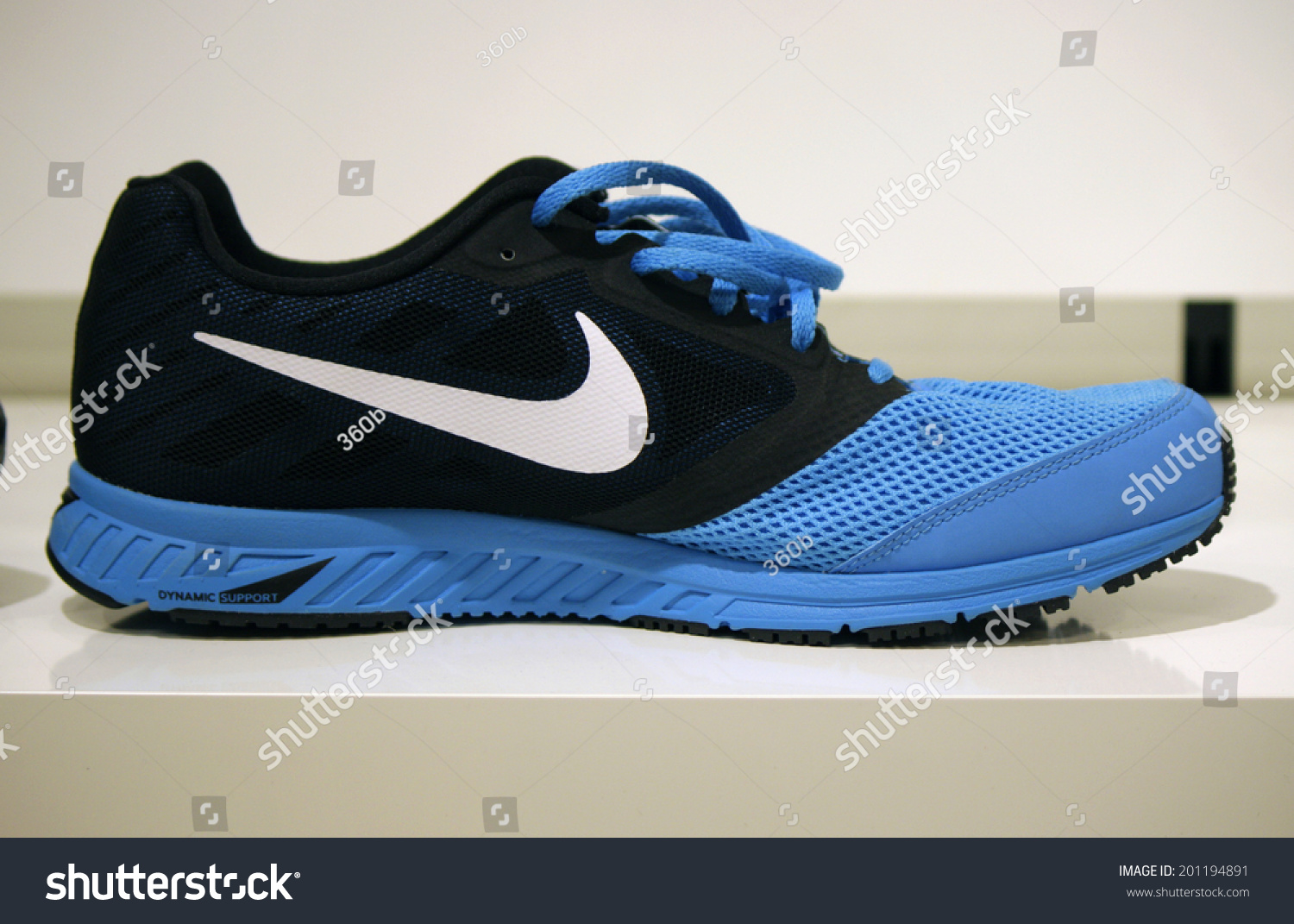 circa may 2014 berlin a nike running shoe stock. Black Bedroom Furniture Sets. Home Design Ideas