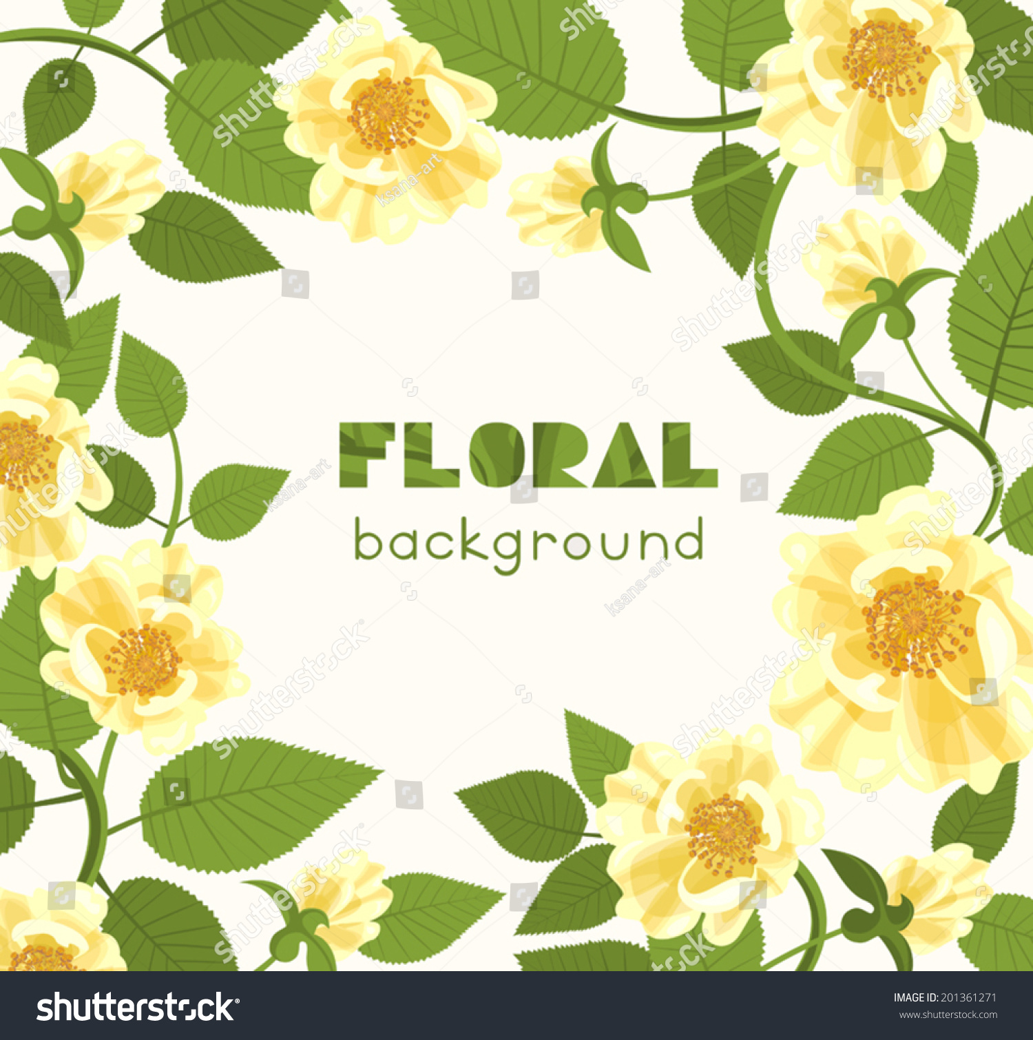 Square Flower Background With Copyspace White Wild Rose stock ...