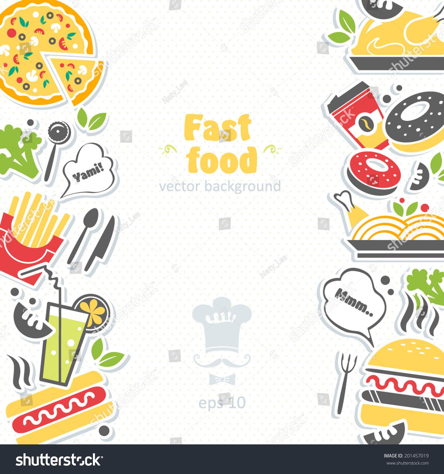 Fast Food Children S Book