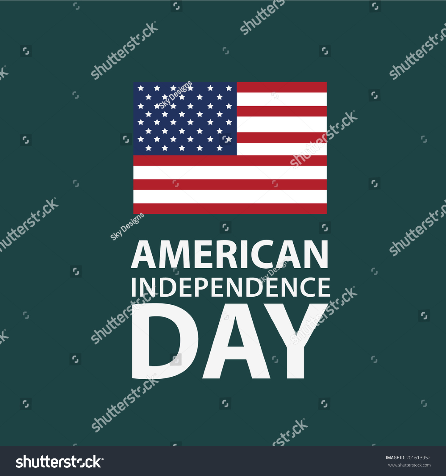 July 4th independence patriotic symbols stock vector 201613952 july 4th independence and patriotic symbols buycottarizona Choice Image