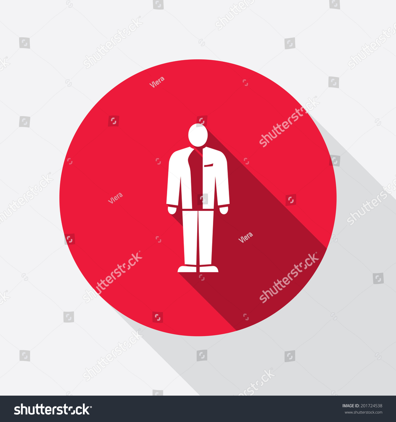 Businessman Icon Man Suit Silhouette Symbol Stock Vector Royalty