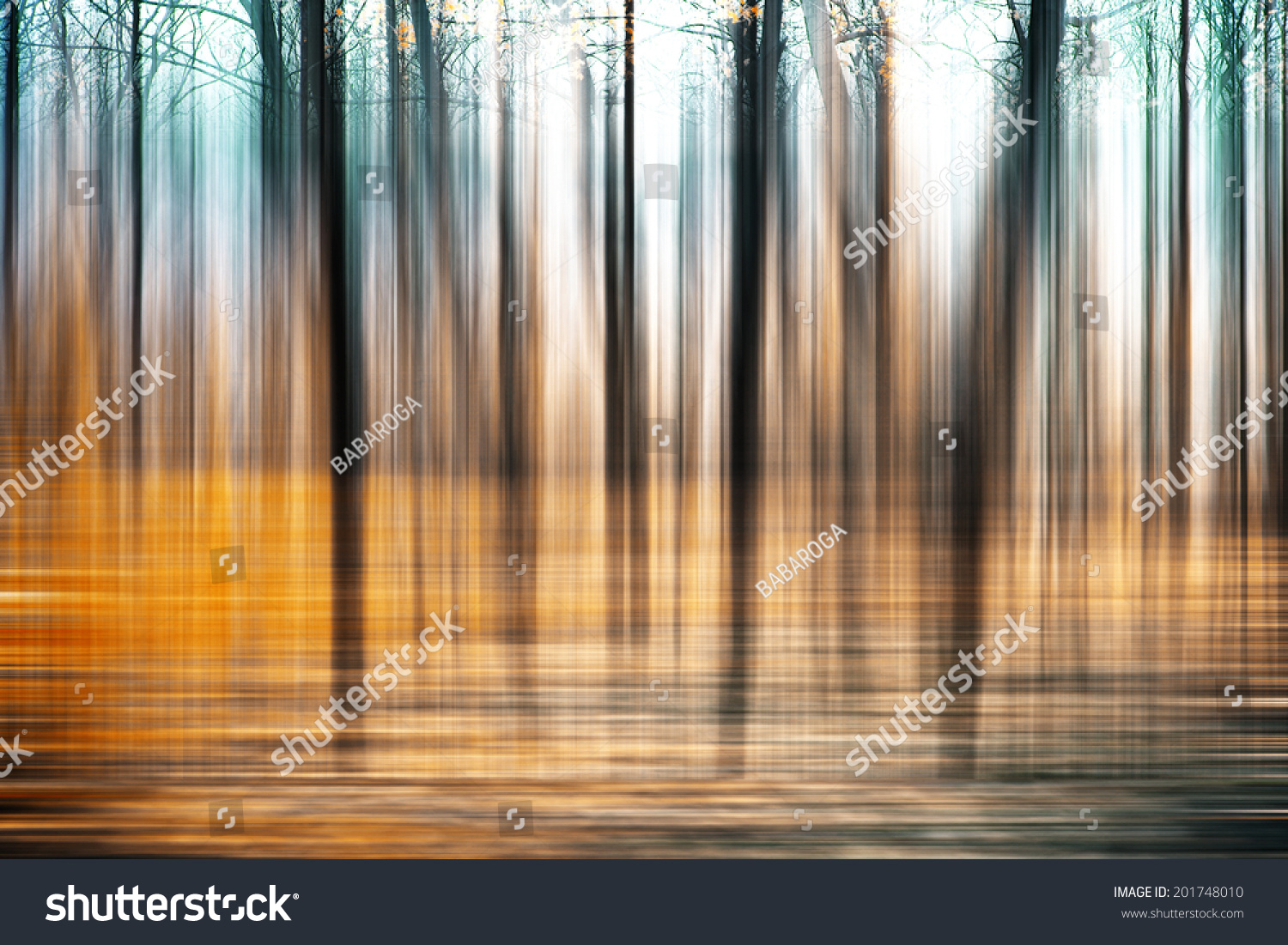 Abstract Forest Motion Blur Abstract Colorful Stock Photo ...