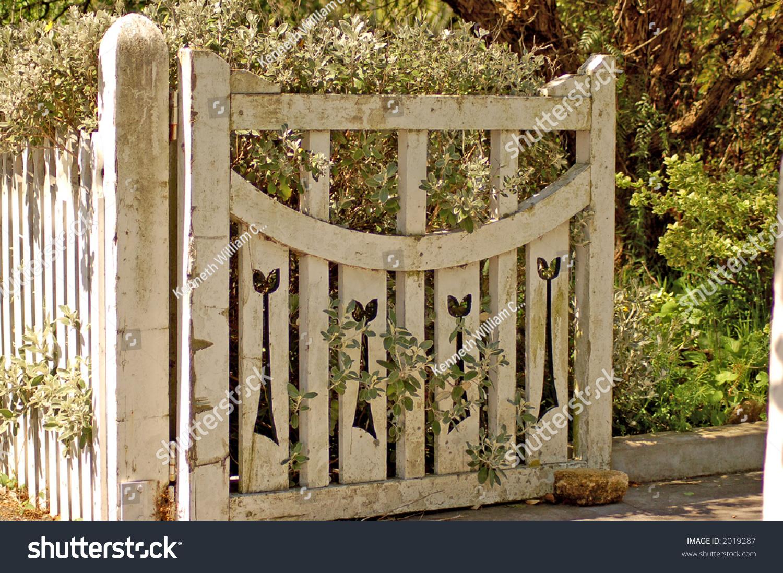 Old Wooden Garden Gate Stock Photo  Shutterstock - Garden gate for sale