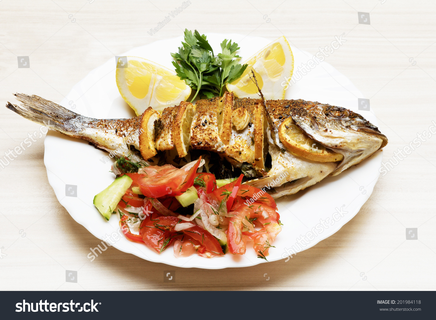 how to cook sea bream