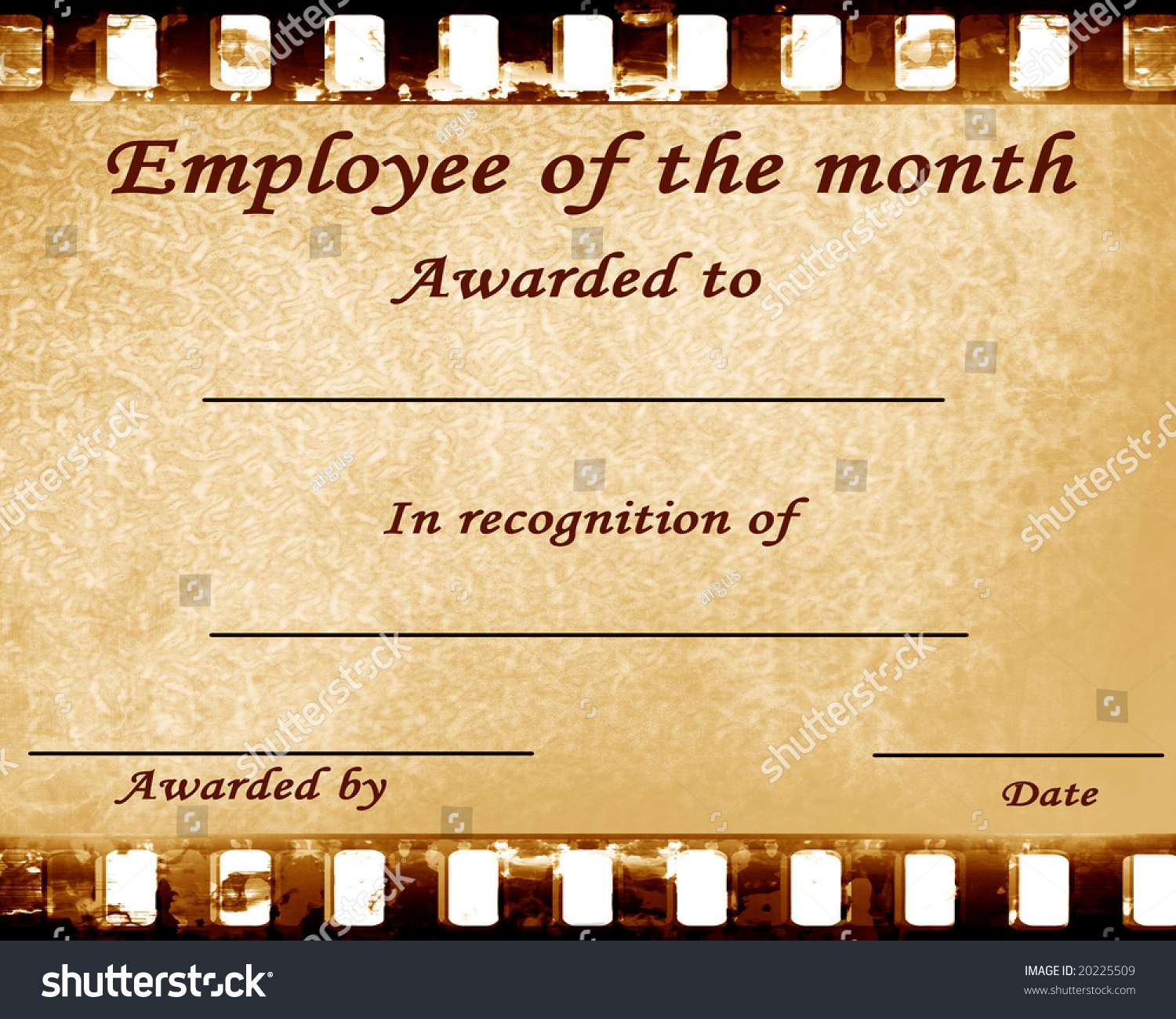 Free Employee Of The Month Certificate Template employment – Employee of the Month Certificate Template Free