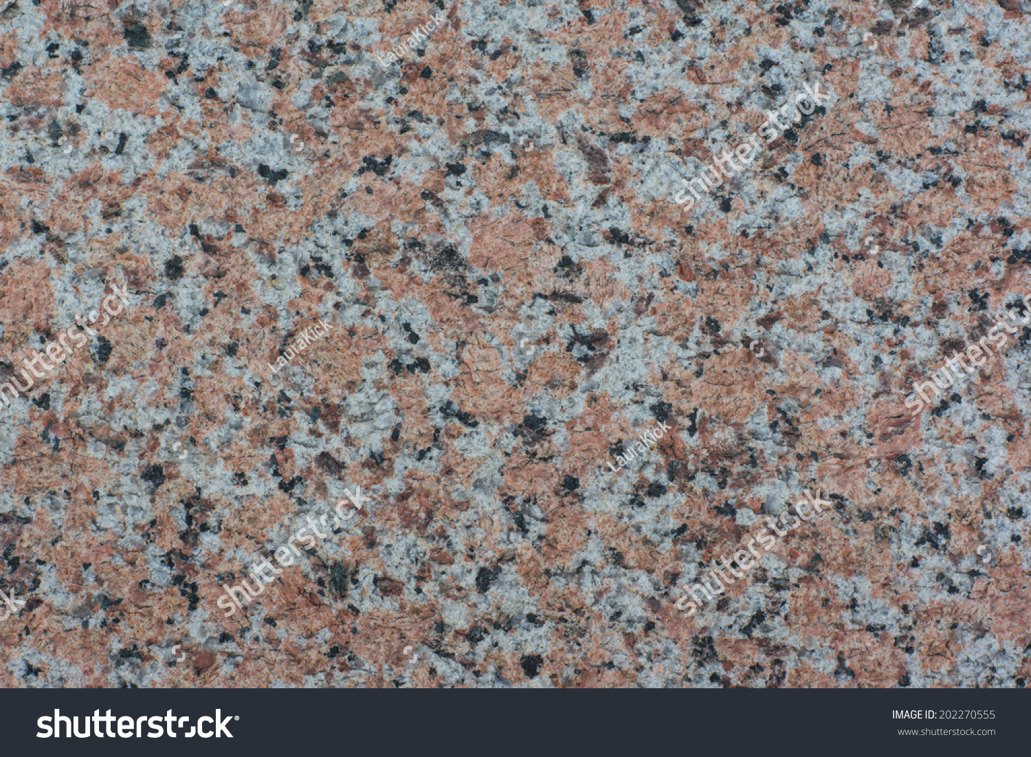 Red And Black Granite : Close granite surface white red black stock photo