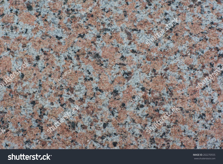 Red And Black Granite : Close granite surface white red black stock photo