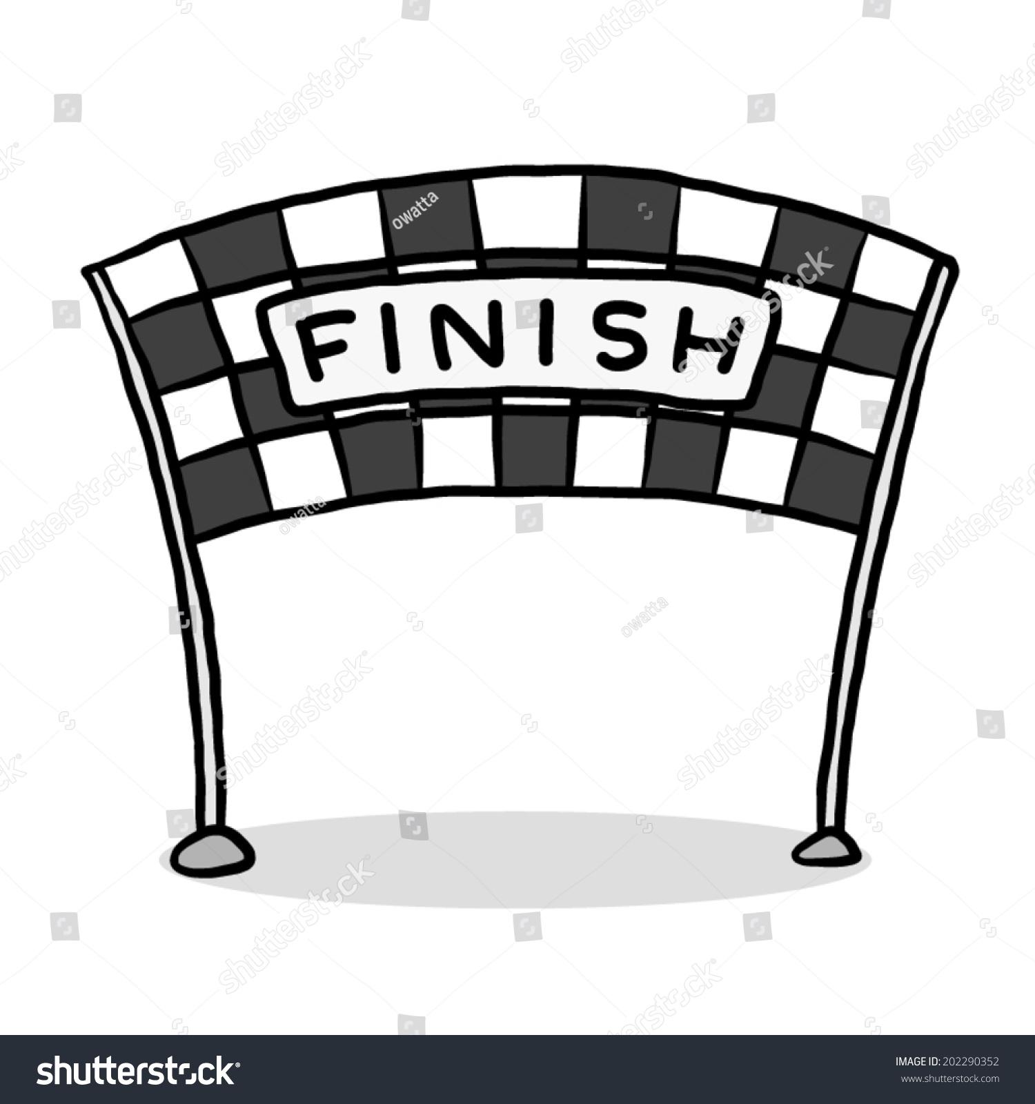 finish line cartoon vector illustration grayscale stock checkered flag clip art border checkered flag clip art images