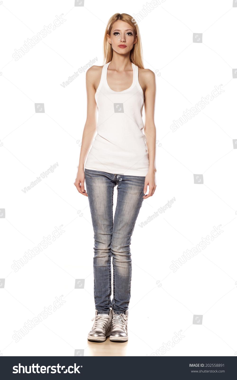 Skinny white girl pics