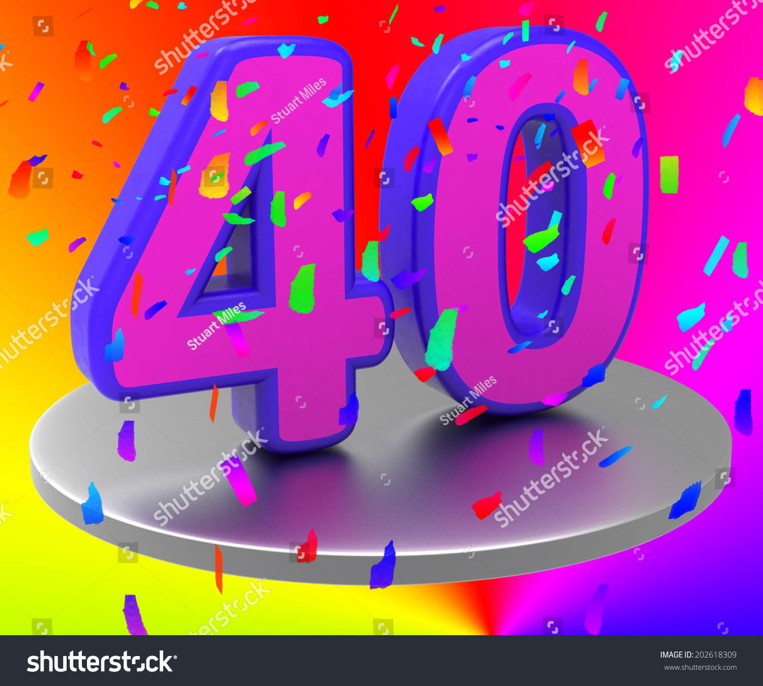 Forty birthday meaning happy anniversary marriage stock forty birthday meaning happy anniversary and marriage buycottarizona