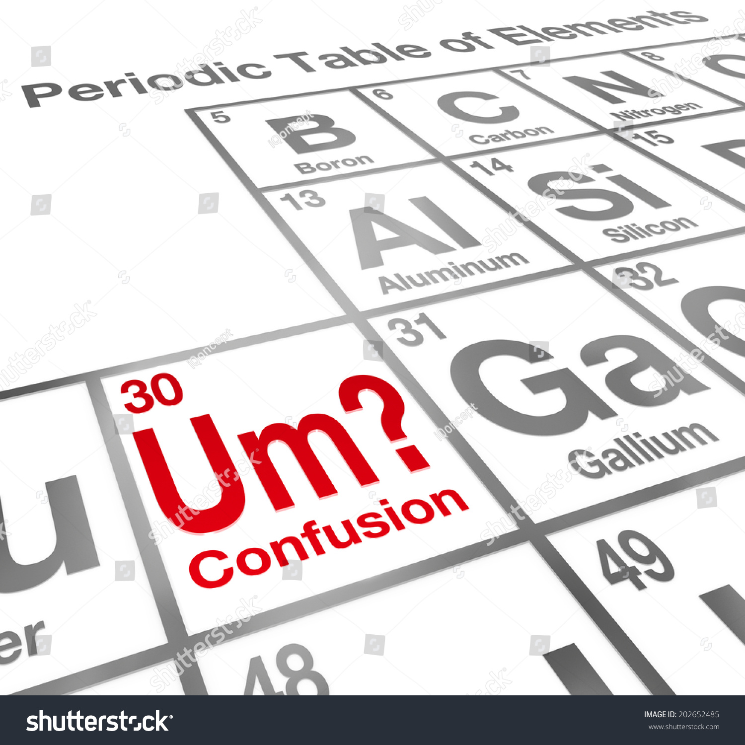 Co2 periodic table choice image periodic table images um element confusion words on periodic stock illustration um the element of confusion words on a gamestrikefo Gallery