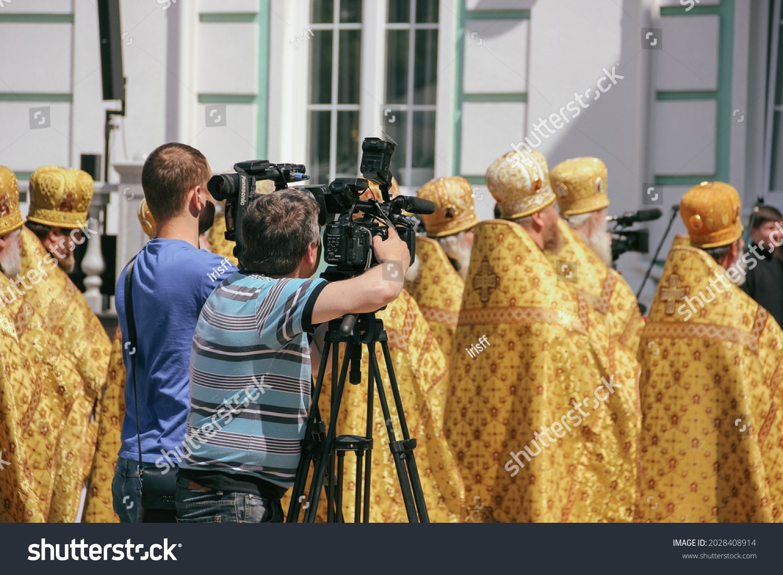 stock-photo-video-shooting-of-a-religiou