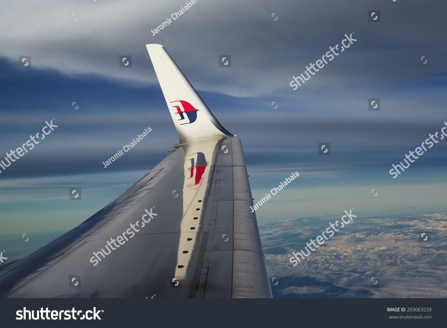 Bangkok thailand july 4 wing boeing stock photo 203063233 shutterstock bangkok thailand july 4 wing of boeing 737 800 malaysia airlines after buycottarizona Image collections