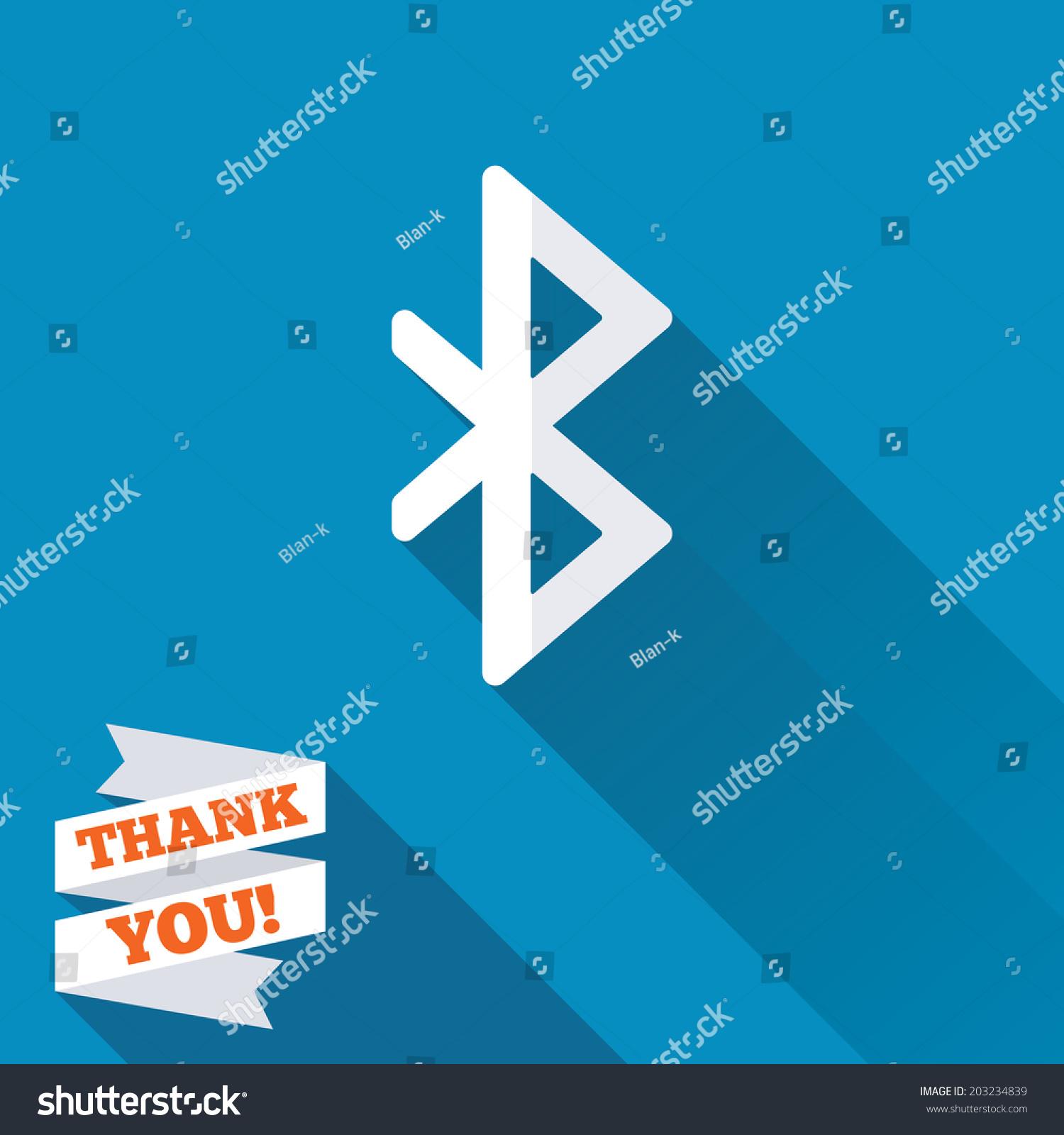 Bluetooth Logo Vector