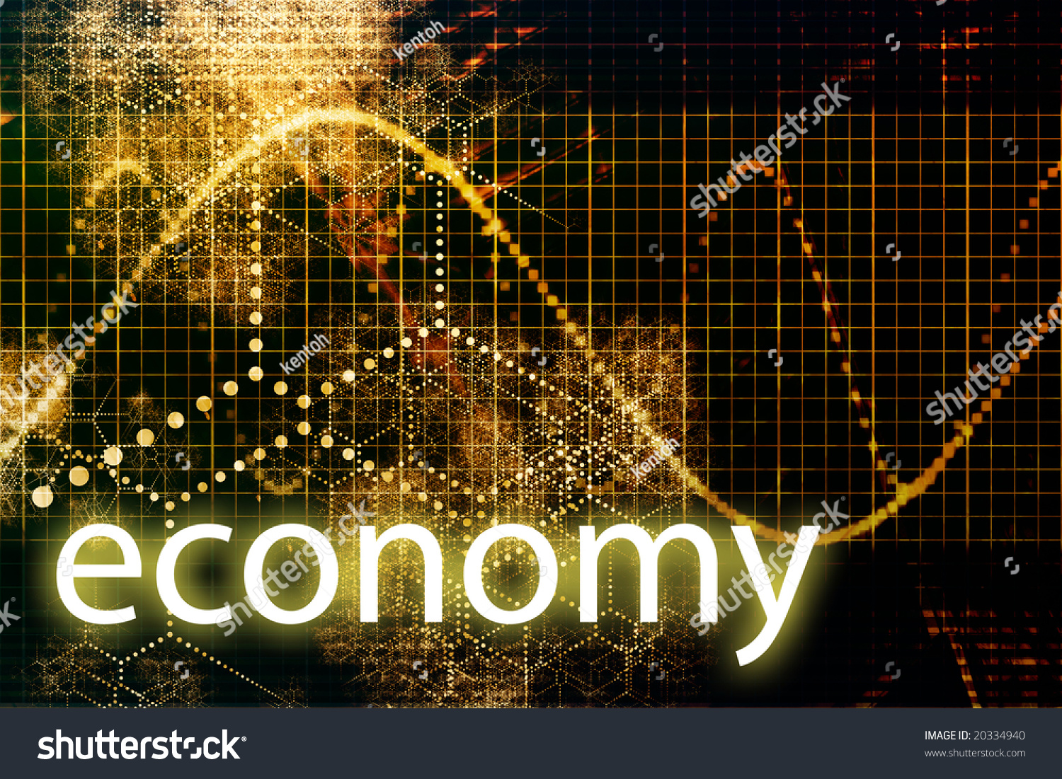 economy abstract technology concept wallpaper background