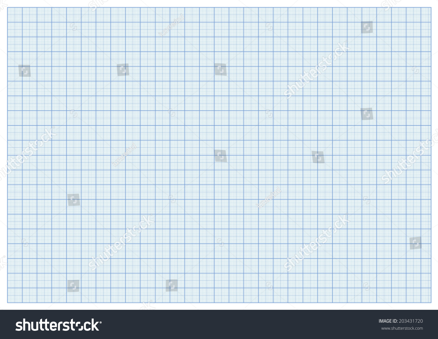 millimeter paper a 3 reel size sheet stock vector royalty free