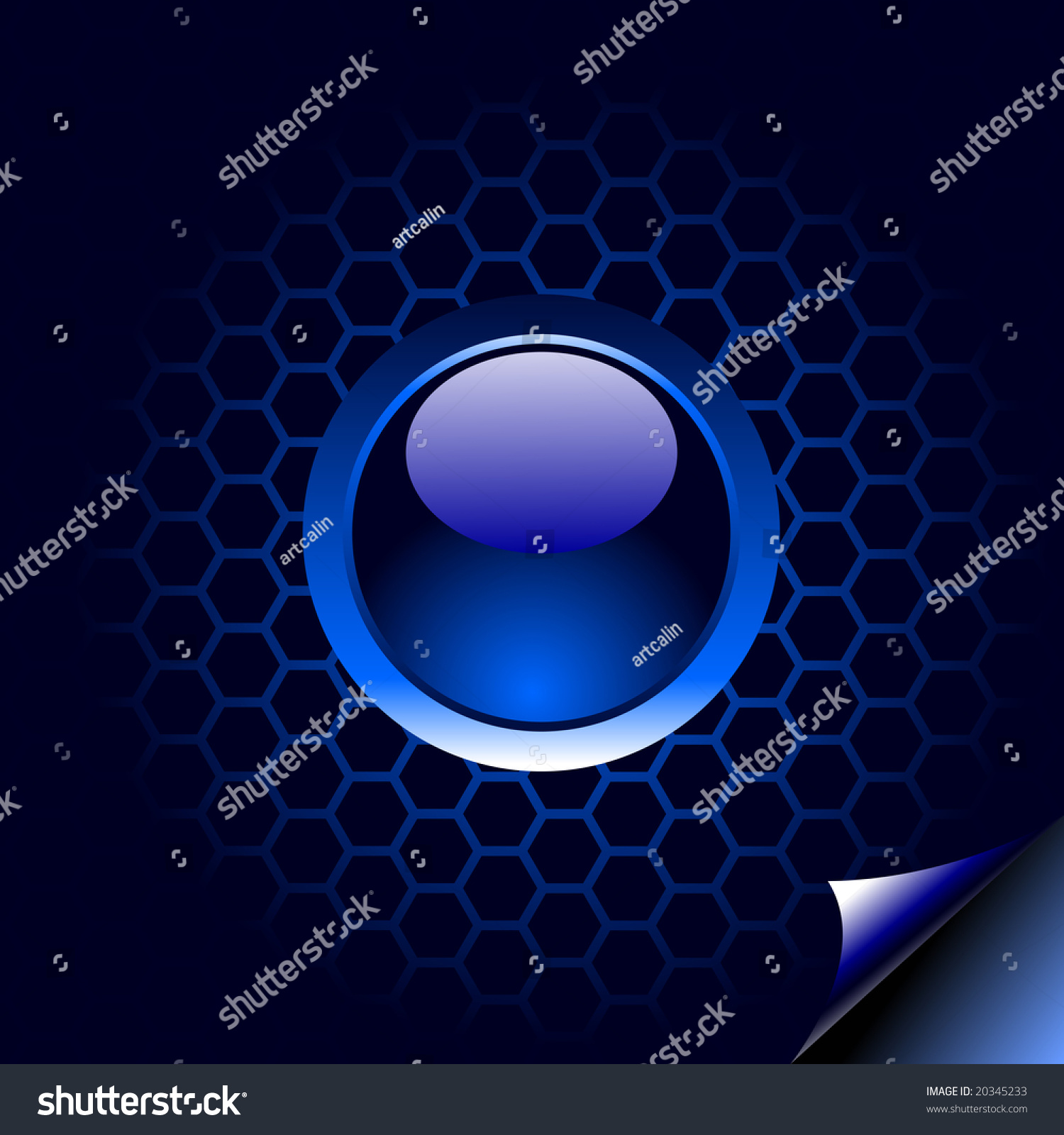 Tech Ablue Glowing Ring Png