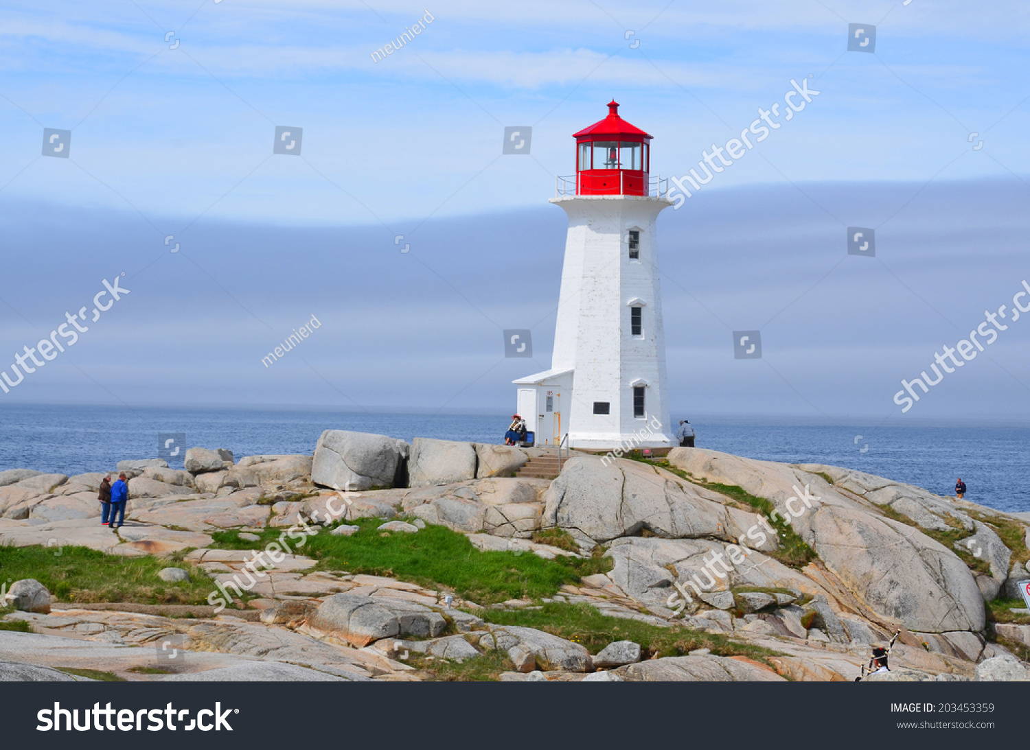 Peggys Cove Nova Scotia June 6 Stock Photo (Edit Now) 203453359