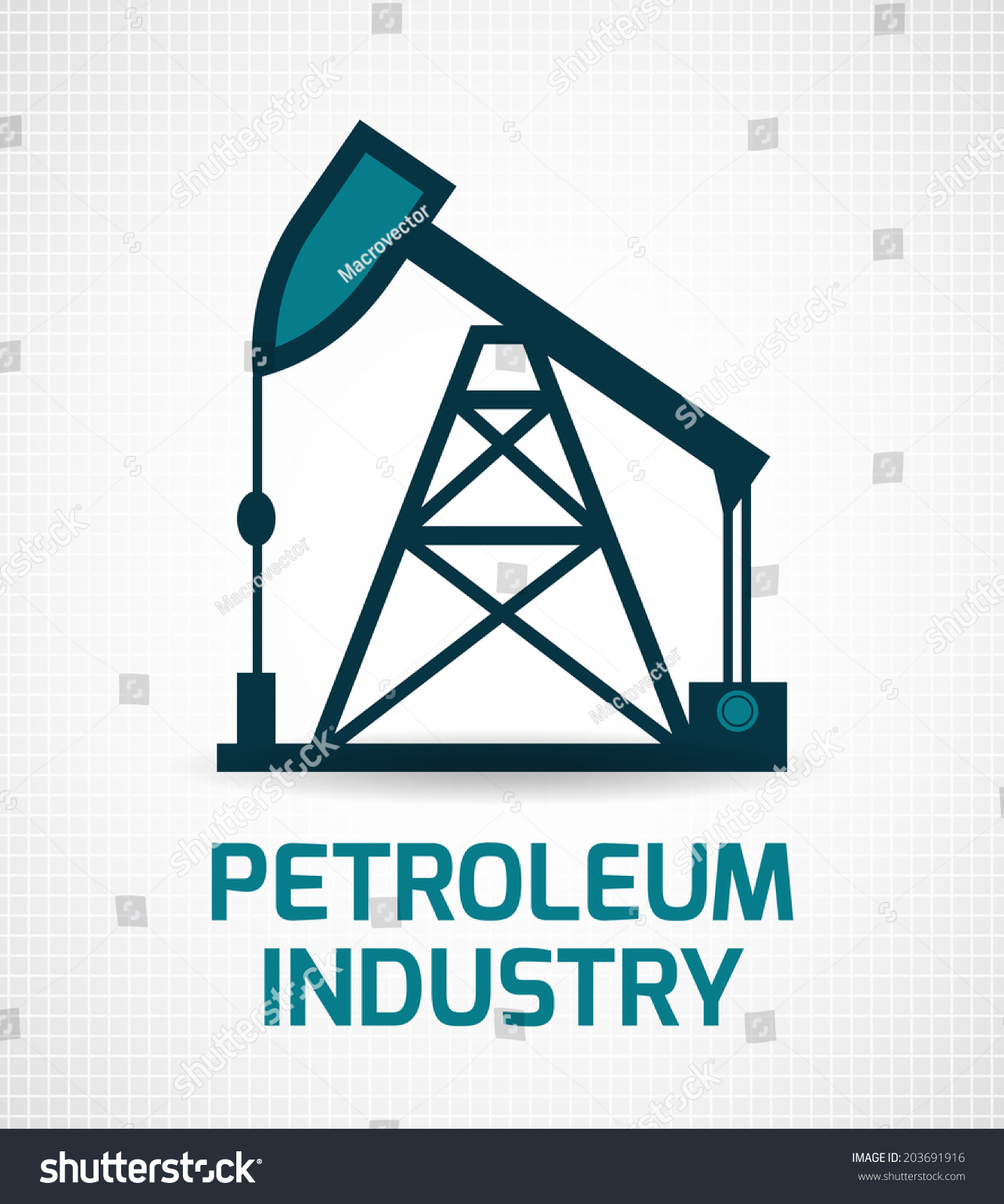 Petroleum industry crude oil extraction removing stock petroleum industry crude oil extraction and removing pumpjack installation symbol pictogram poster print abstract illustration biocorpaavc Gallery