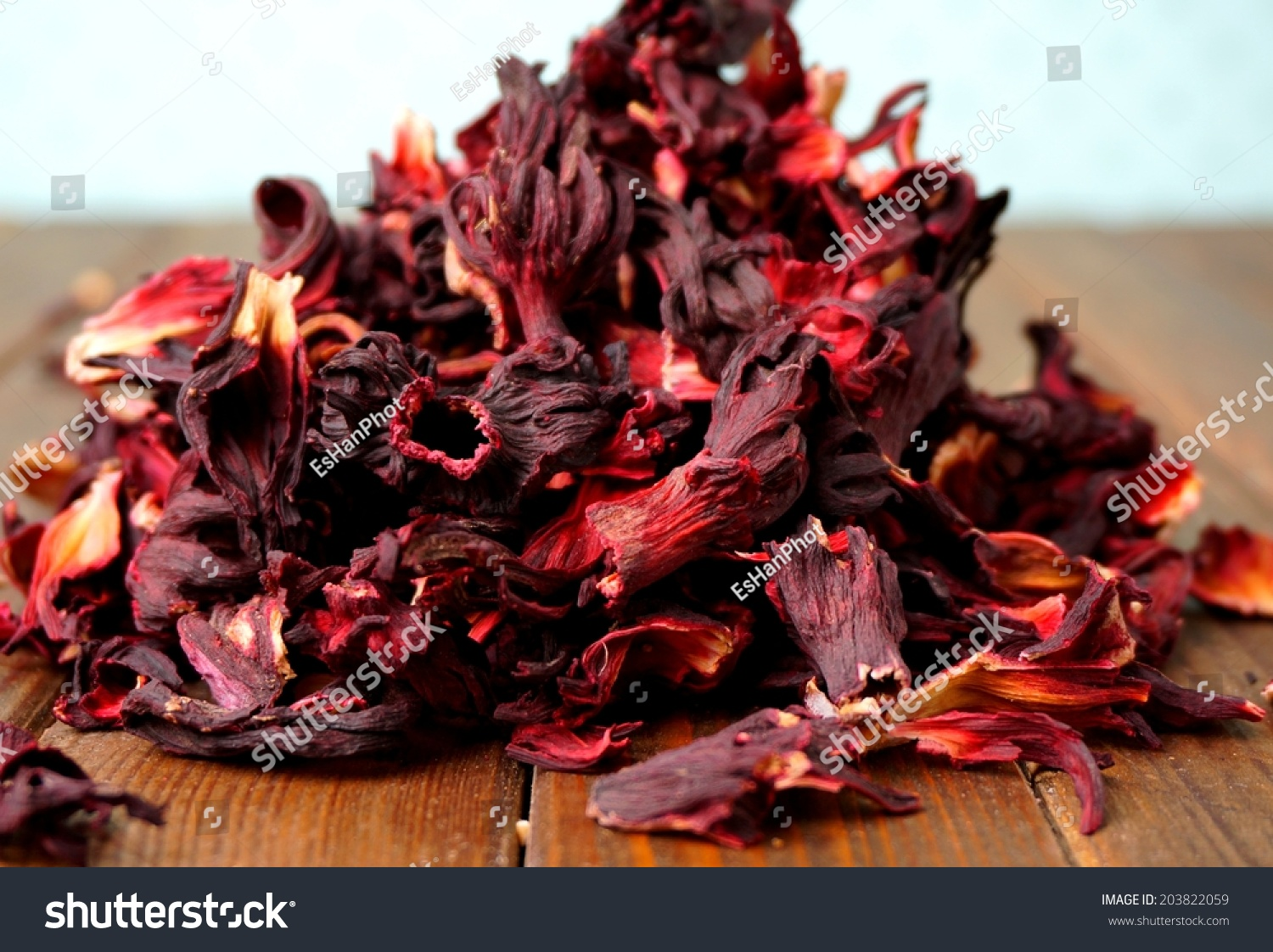 Dried Hibiscus Flower Petals Ez Canvas