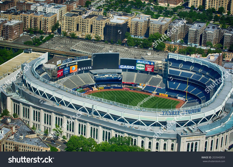 Madison Square Garden: New York City May 21 Yankee Stock Photo 203940859