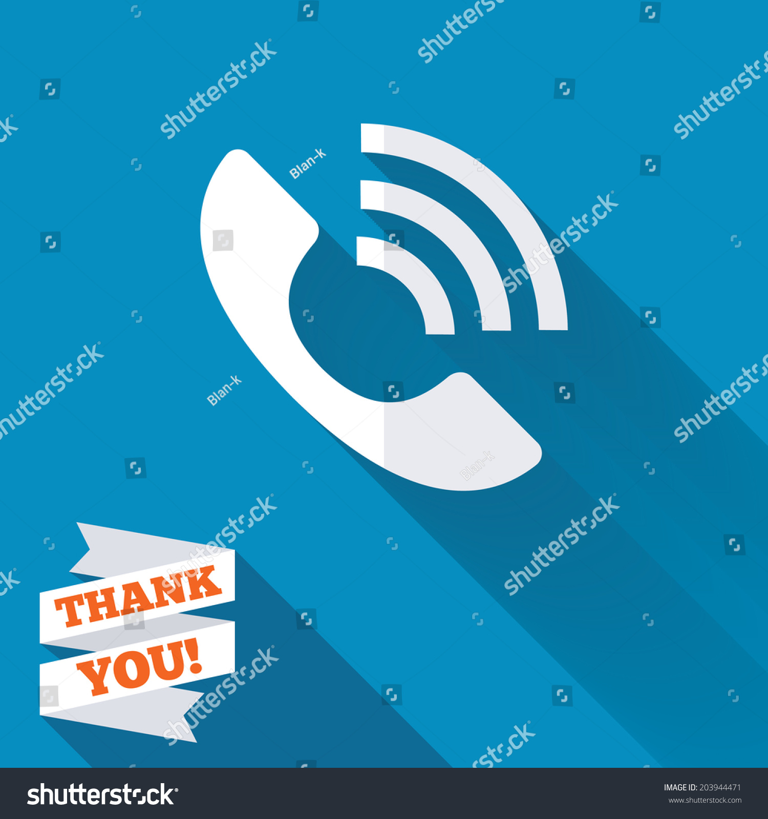 Phone Sign Icon Support Symbol Call Stock Vector (Royalty