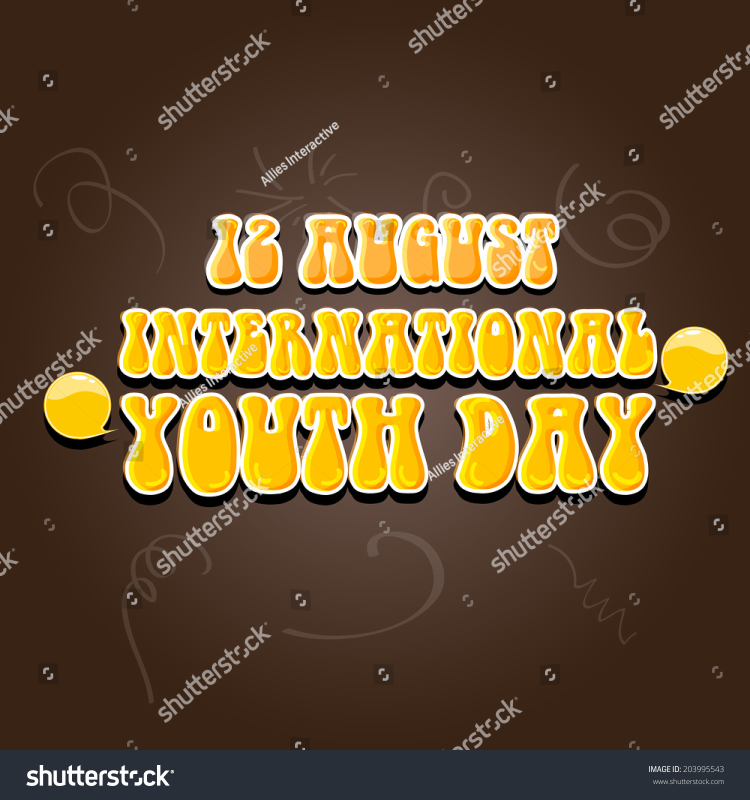 Poster design for youth - Poster Banner Or Flyer Design For International Youth Day Celebrations