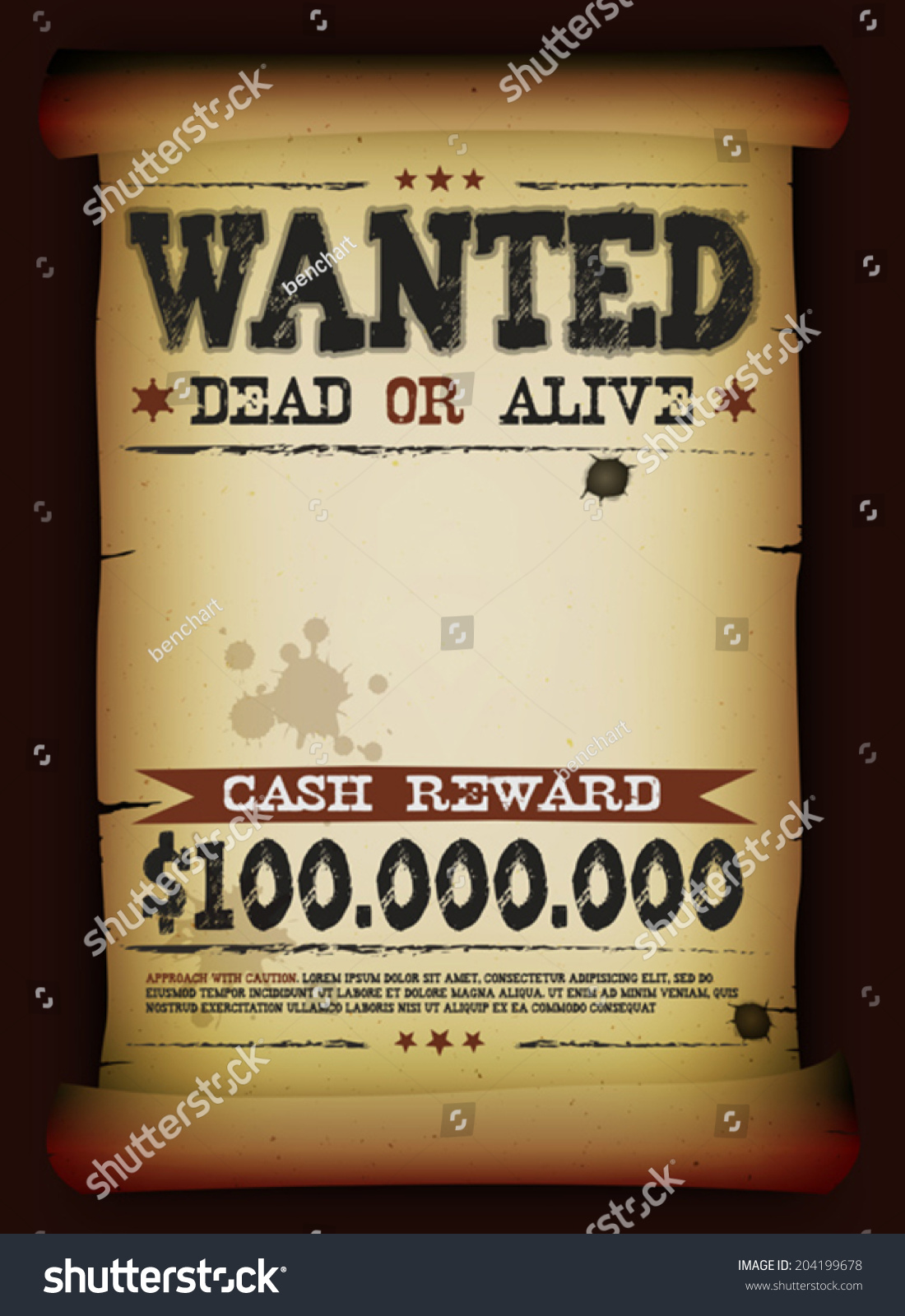 Wanted Poster Template Download menu word template sales sheets – Free Wanted Poster Template Download