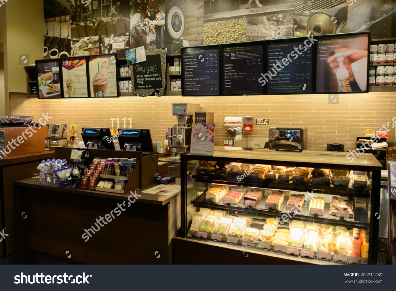 Kuala Lumpur Malaysiamay 06 Starbucks afe Stock Photo 204211489 ... - ^
