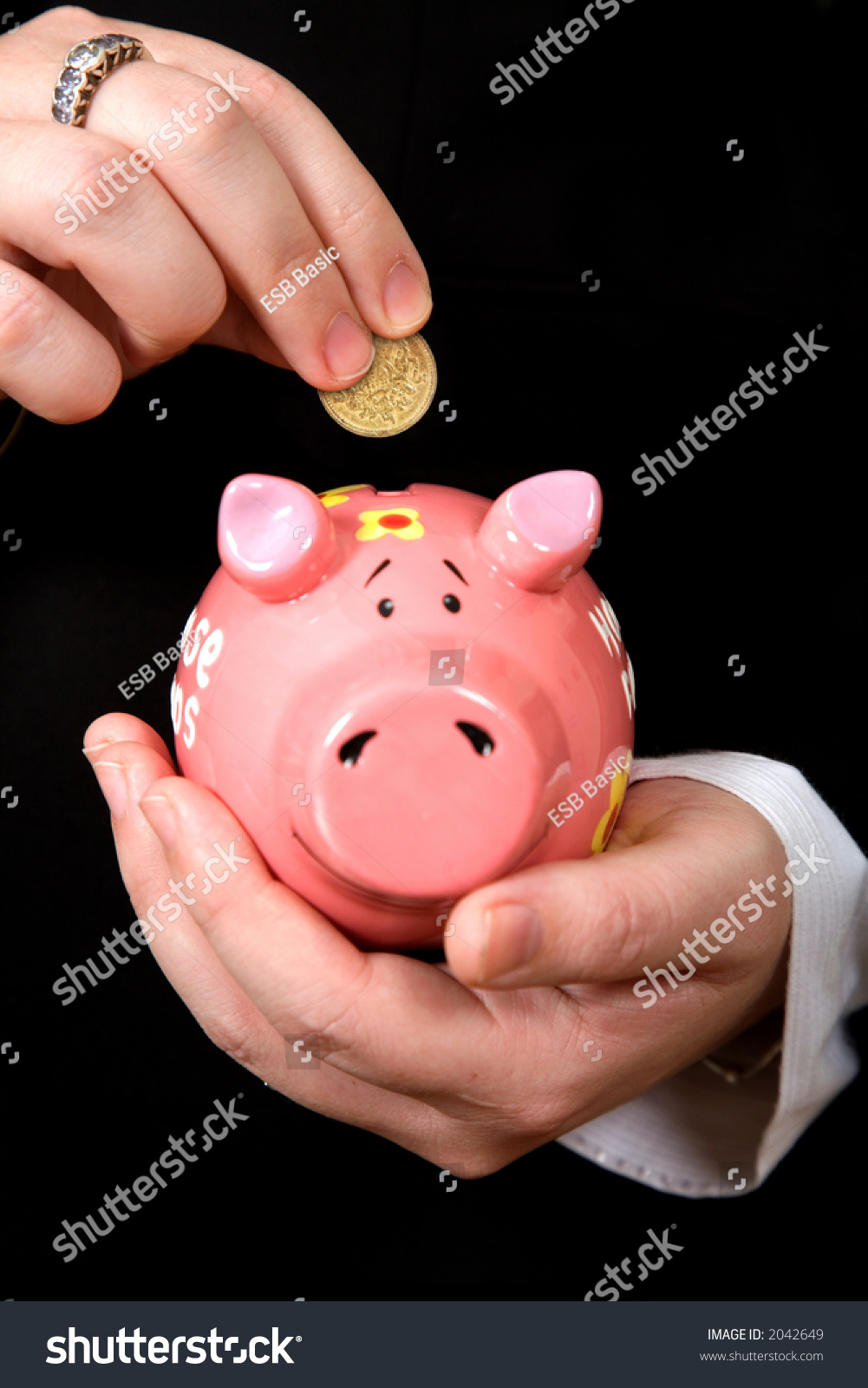 how to get a coin out of a piggy bank