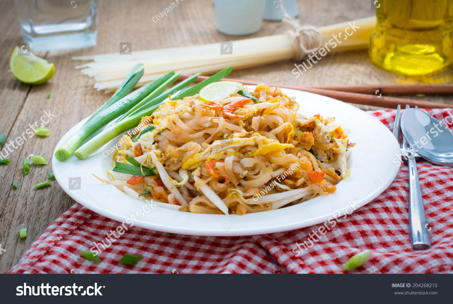 how to cook rice noodles for pad thai