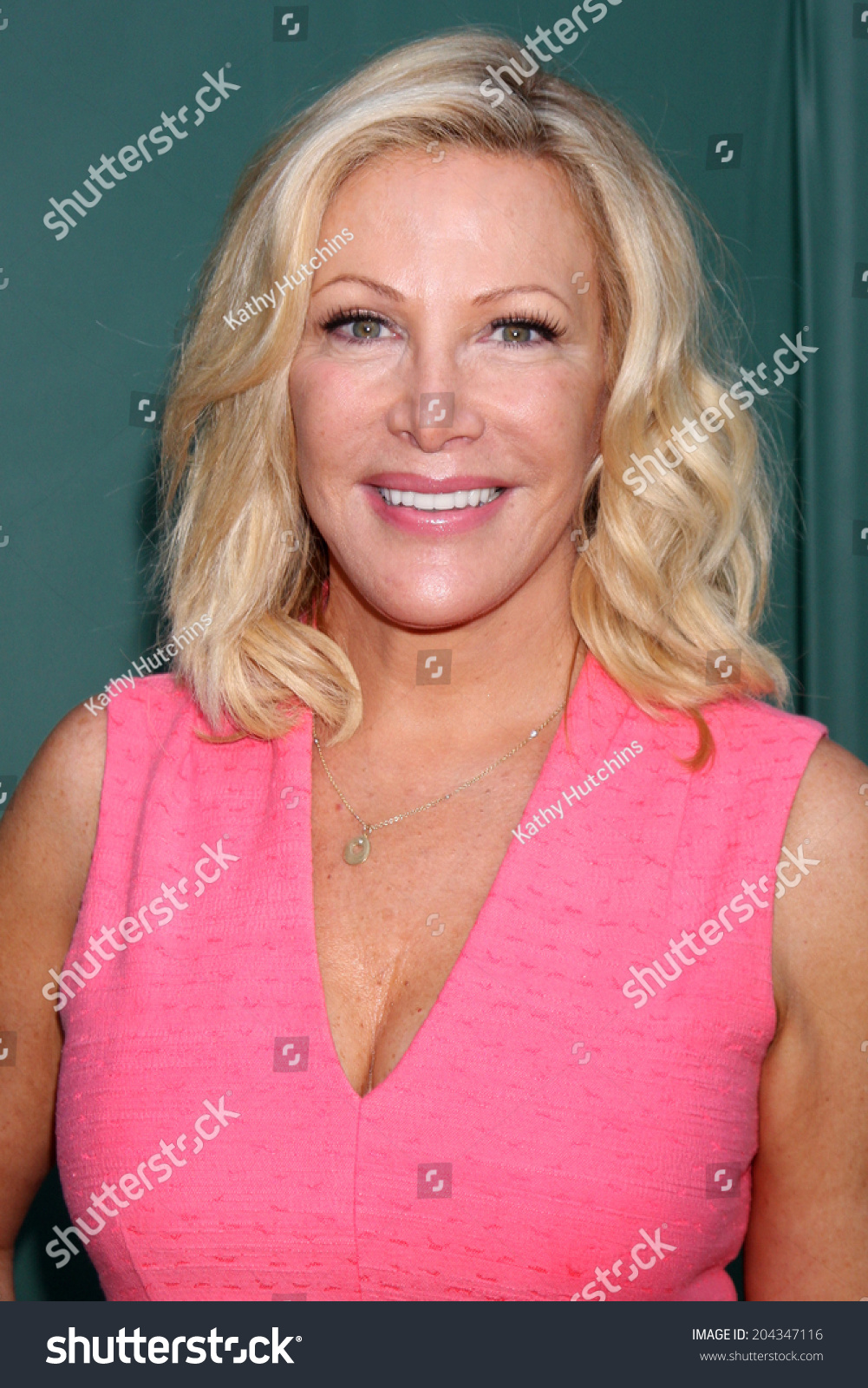 LOS ANGELES JUL 8 Kym Douglas at the Crown Media Networks July 2014 TCA Party at the Private Estate on July 8 2014 in Beverly Hills CA