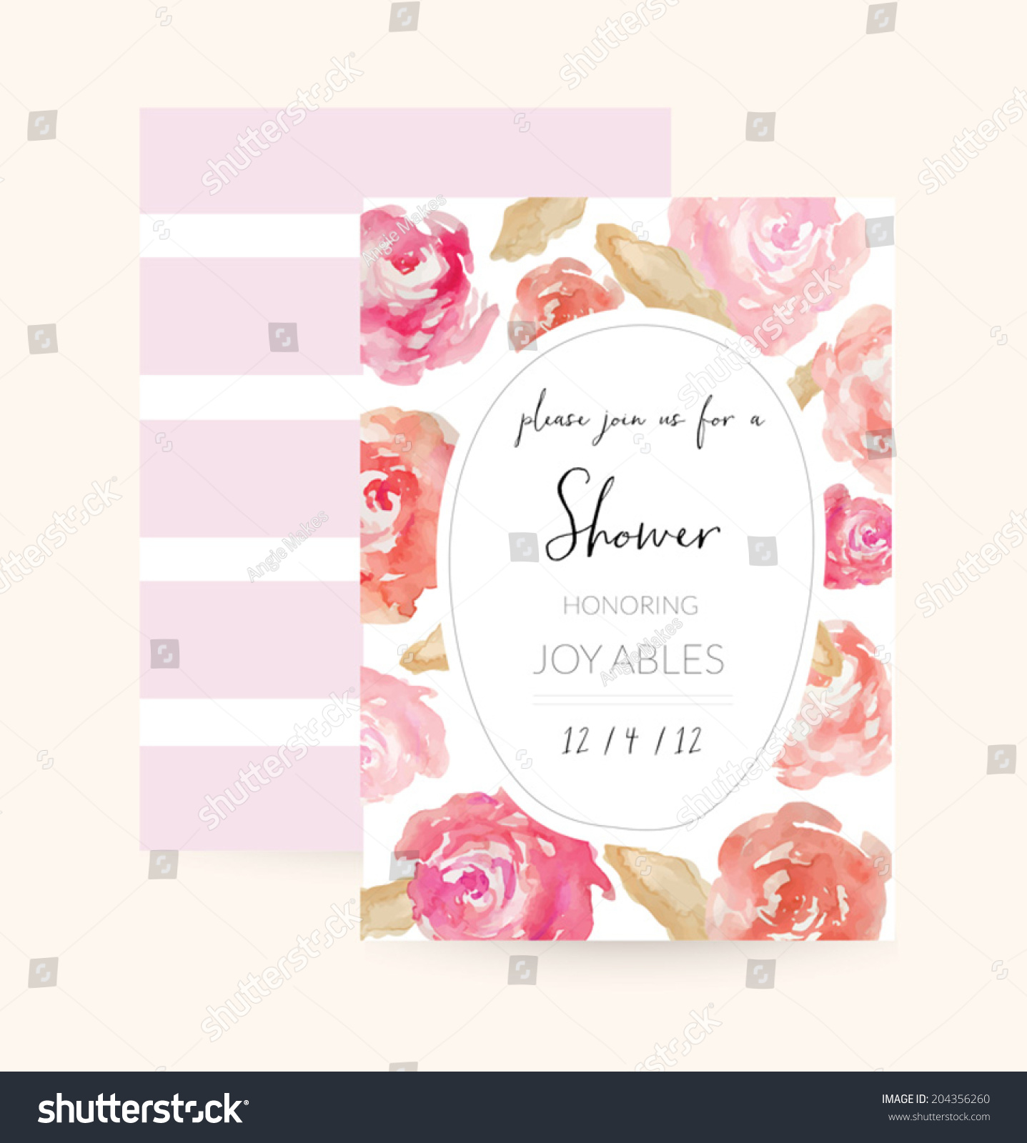 wedding shower invitation template