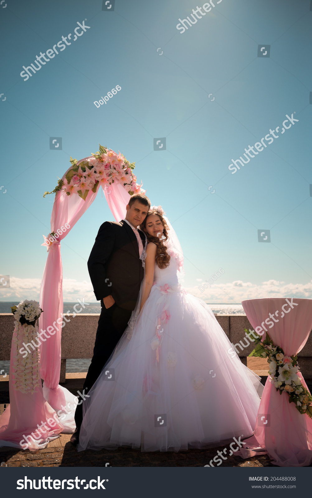 Happy Bride Groom On Their Wedding Stock Photo (Edit Now)- Shutterstock