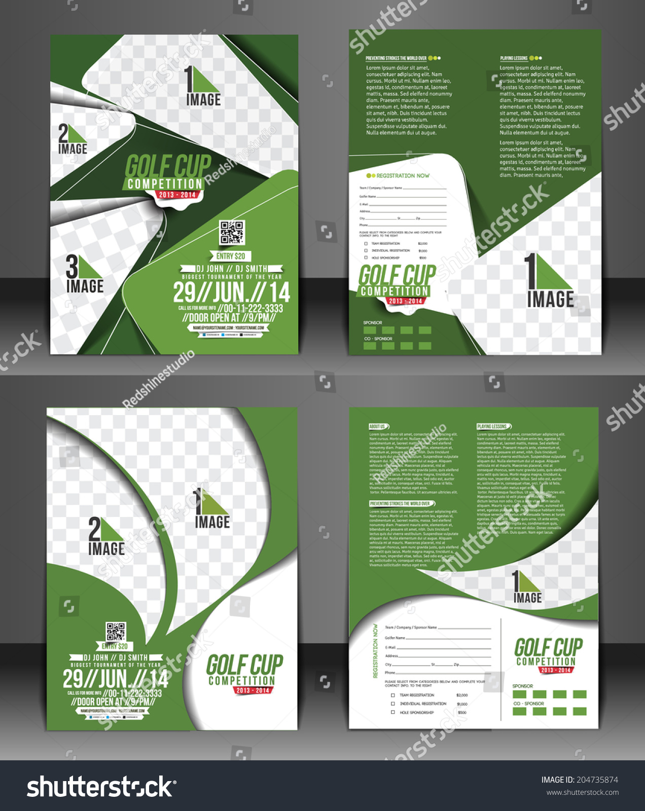 Golf for flyer clipart 28 images golf tournament flyer for Golf tournament program template