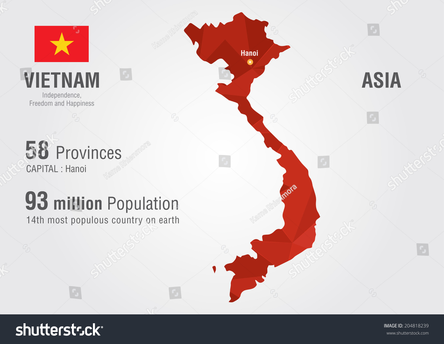 Vietnam world map pixel diamond texture stock vector 204818239 vietnam world map with a pixel diamond texture world geography gumiabroncs Gallery