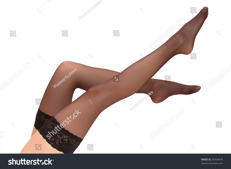 Beautiful women in stockings