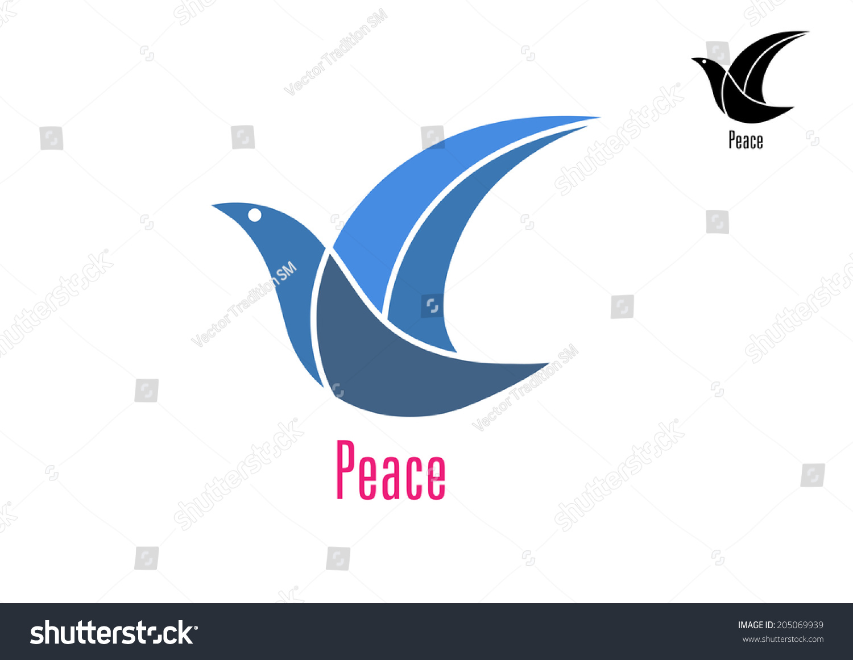 Dove bird peace sign - photo#45