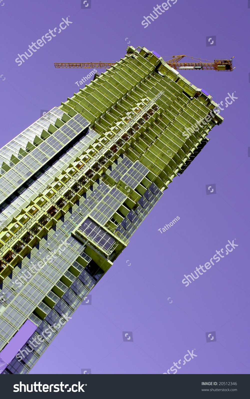 stock-photo-green-building-against-viole